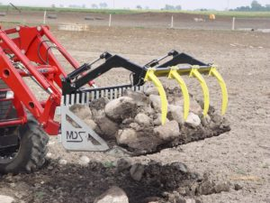Rock Bucket Tractor Attachments