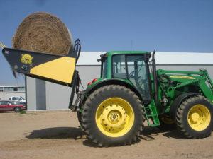 Tractor Bale Processor