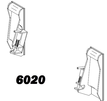 Mounting Brackets and Plates for Tractors and Loaders | MDS