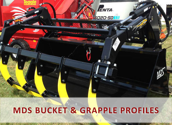 MDS Grapple & Bucket Profiles