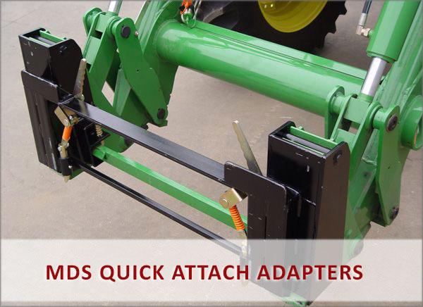 MDS - Tractor & Loader Attachments, John Deere, Kabota, Skid Steer
