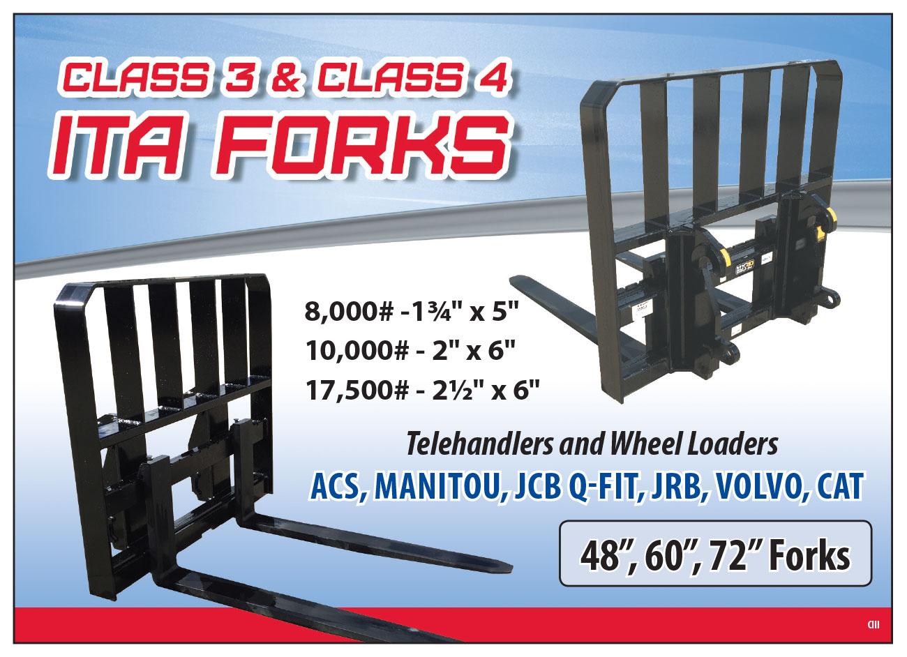 Class 3 & 4 ITA Forks