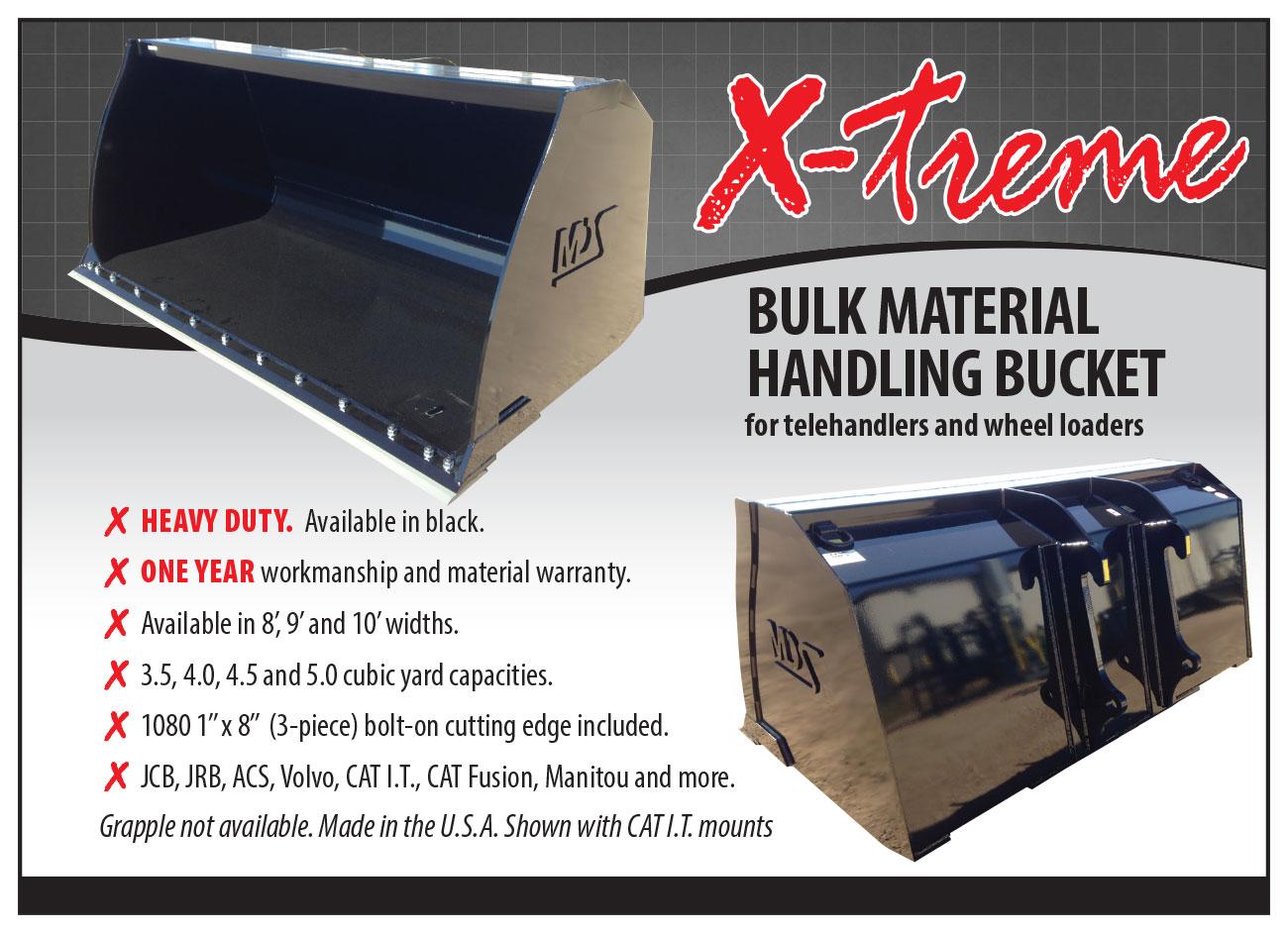 X-treme Bulk Material Bucket