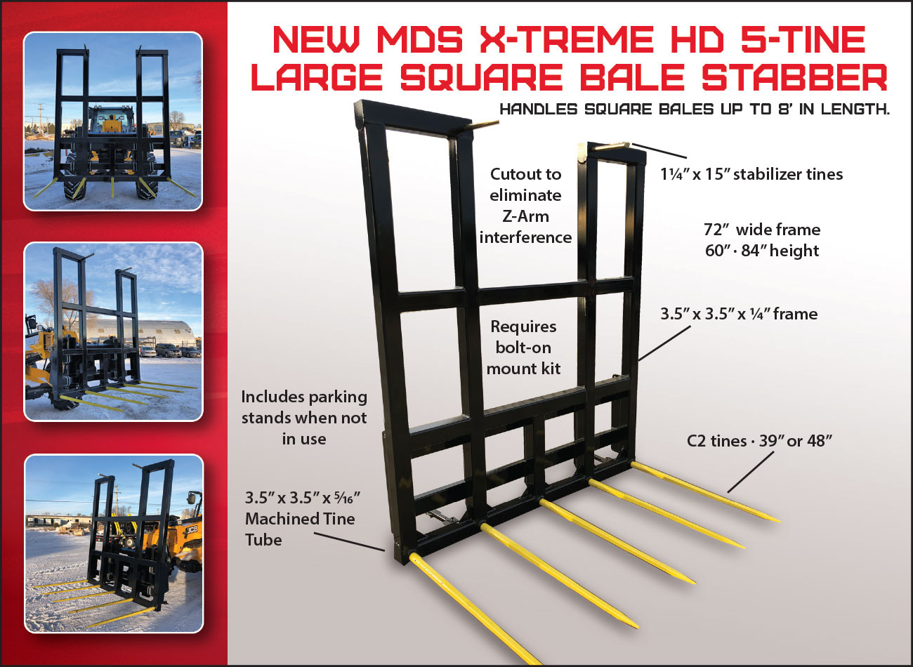 Xtreme HD Bale Stabber