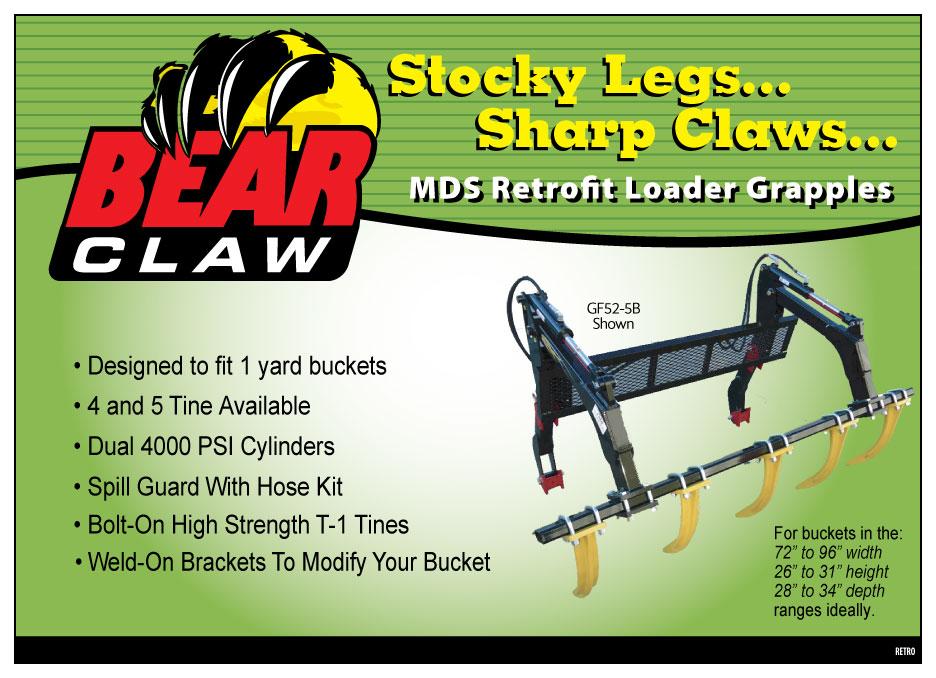 Bear Claw ad