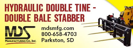 MDS Double Tine Double Bale stabber