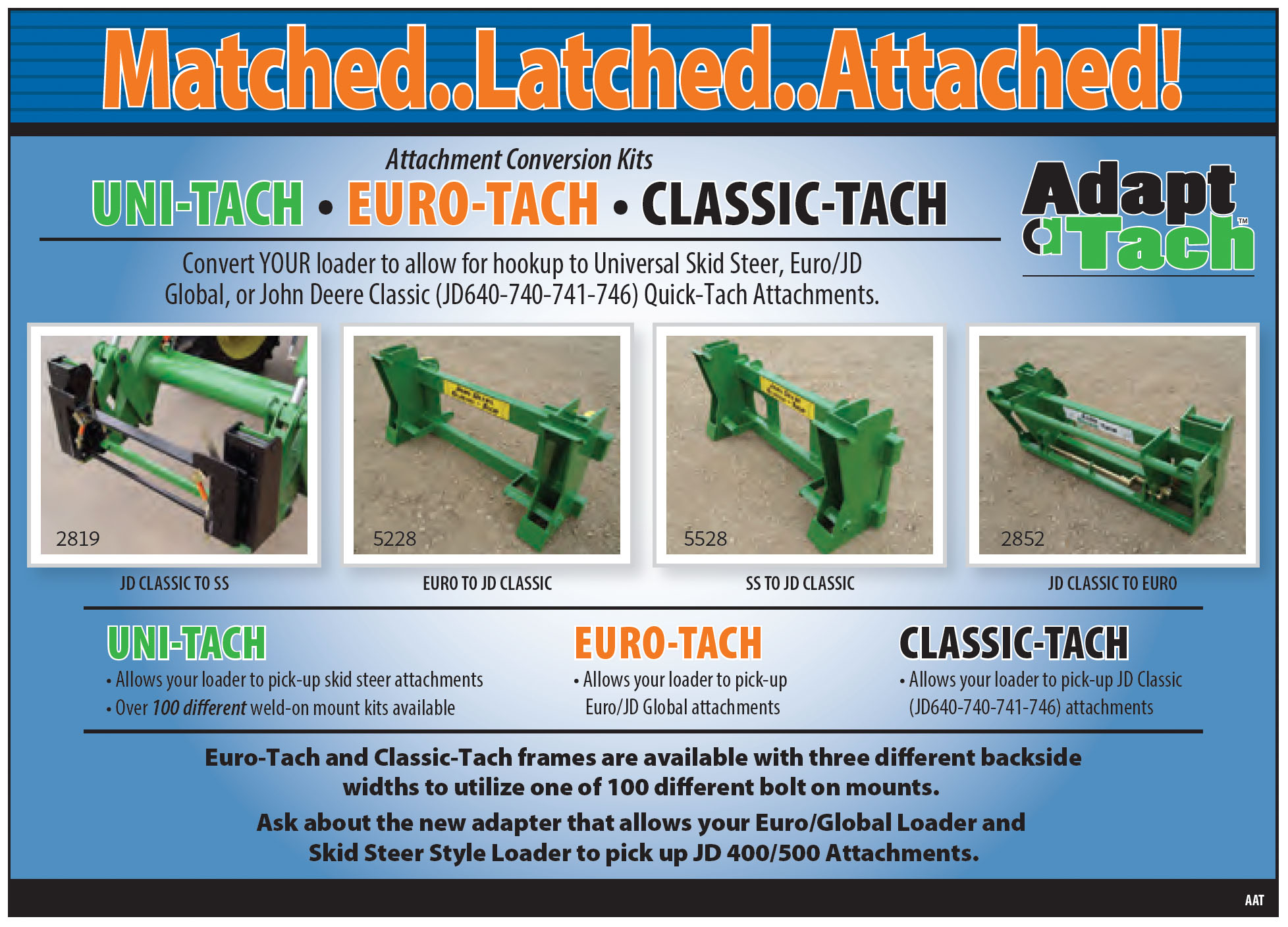 Adapt-a-tach Adapters