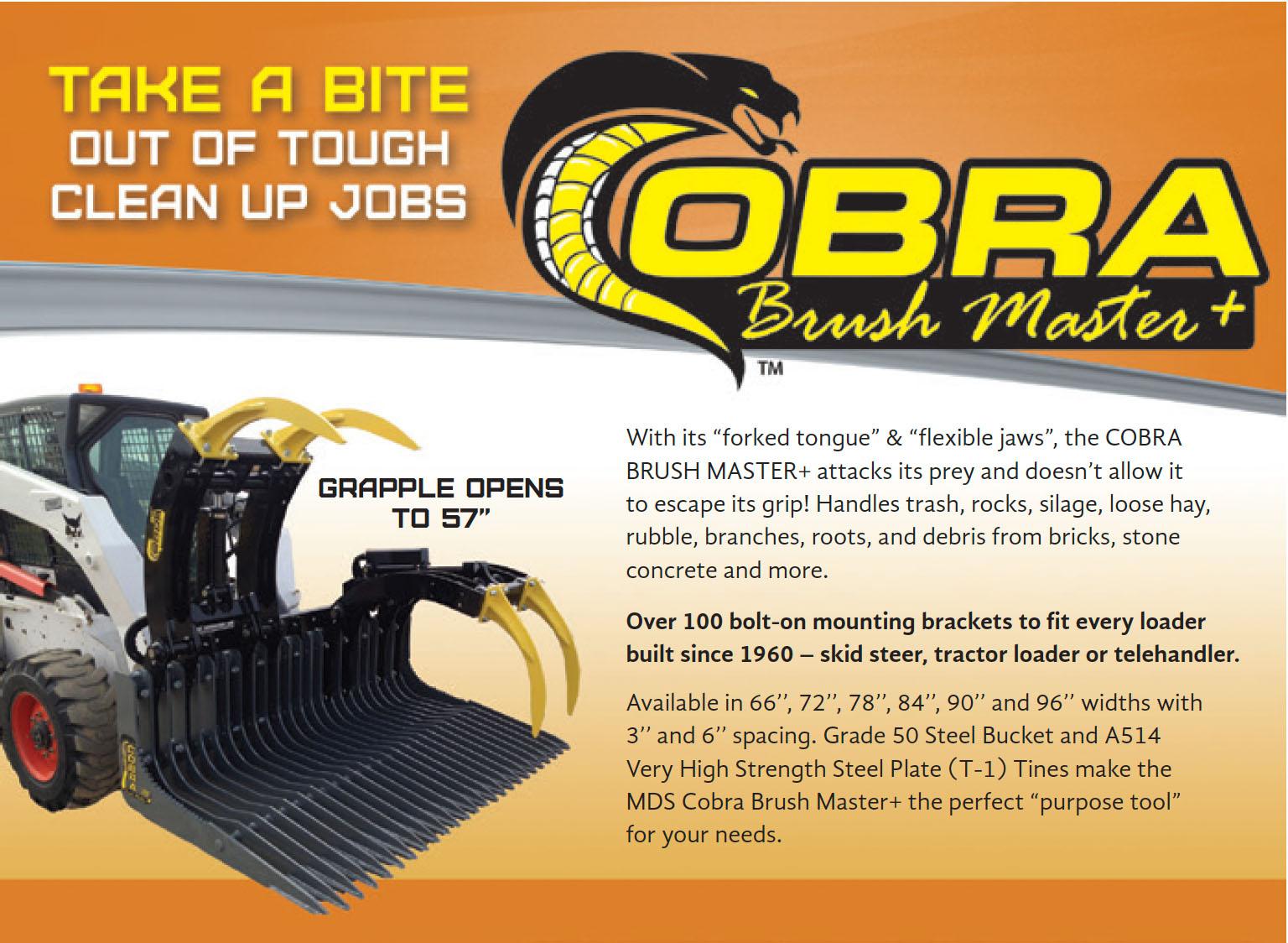 Cobra Brush Master +