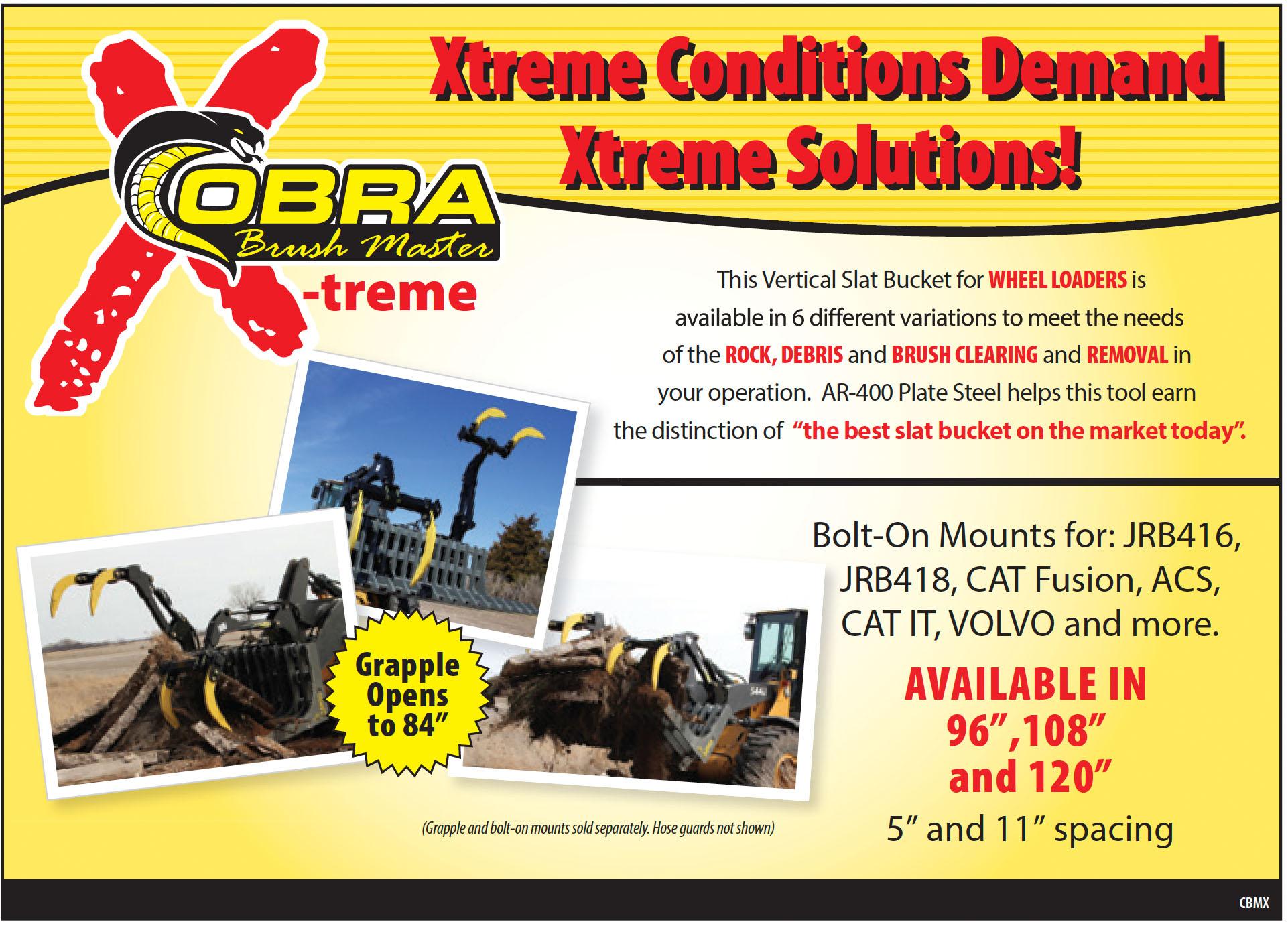 Cobra X-treme Wheel Loaders