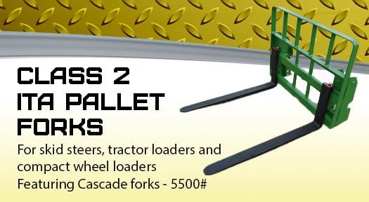 Class 2 ITA pallet forks