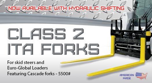 Hydraulic Class 2 forks