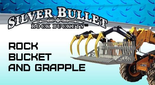 Silver Bullet rock bucket