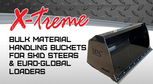 x-treme bulk material buckets